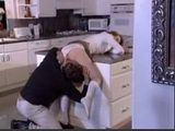 German Stepdad Fucks His Stepdaughter In The Kitchen Late At Night