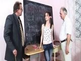 Old Perverts Professors Mistreated Young Students During Class
