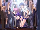 Beauty Japanese Anime Gangbang In The Public Show