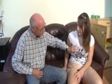 Beautiful Chubby Girl and Old Man Fuck