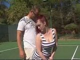 This Tennis Coach Will Teach Her Play Brand New Game