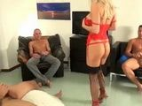Hard Anal Dped Gangbang Experience For Italian Blonde Milf