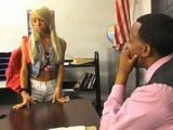 Black Teacher Blackmail Petite Small Titted Schoolgirl To Swap Pussy For a Better Grade