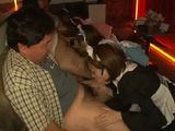 4 Barmaids Giving Oral Pleasure To Customers at the Bar