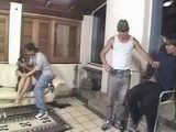 Brazilian Wife Forced By Two Favela Gangsters While Husband Watches On In Desperation