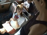 Nerdy Schoolgirl Meet Sexual Predator In A Public Transportation
