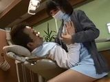 Milf Dentist knows How To Relax Patient And Made Him To Forget The Pain