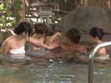 Lucky Guy Gets Some Hot Company At The Spa