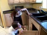 Pervert Plumber Used Old Trick To Fuck Handsome Housewife 3x