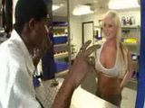 Black Man Tricked Blonde Stupid Girl