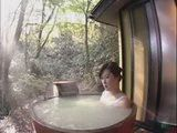 Sexy Japanese Masturbating In A Hot Tub