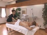 Milf Masseur Knows Well That Nothings Gonna Relax Man Like A Good Blowjob