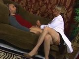 Busty MIlf Shrink Helps Patient To Relieve Post Traumatic Stress Disorder