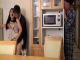 Japanese Boy Caught Shameless Milf Mom In the Middle Of Fucking