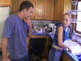 Blackmailing Brothers Wife Into Anal In the Kitchen