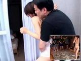 Japanese Girl Takanashi Ayumi Was Dragged Out From Her Bed And Abused By All The Hotel Guests