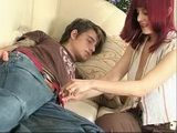 Redhead Milf Finds Her Sons Friend Sleeping And Glance On His Young Cock