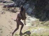 Amateur Chick Cheating On Her Boyfriend With His Best Friend At The Beach