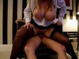 Guy Fucking Hot Busty Receptionist In His Hotel Room During Her Working Hours