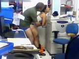 Amateur Brazilian Real Secretary Fucking Her Boss In The Office
