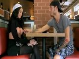 Lucky Dude Pick Up Slutty Teen With Perfect Boobs At Coffee Shop And Fuck Her Pussy