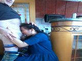 Philipina Maid Blackmailed By Boss To Suck Him Off