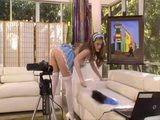 Hot Babysitter Busted Naked In Living Room
