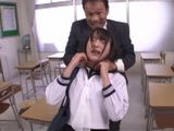 Pervert Professor Mistreated This Poor Young Girl With Hard Fucking  Suzukawa Ayane