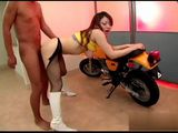 Japanese Biker Fucked His Hot Girlfriend