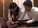 Young Inexperienced Couple Simulate Everything They Saw On Porn Movie For The First Sex Tryout