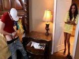 MILF Mommy Caught Sexual Burdened Teenage Boy Jerking On Her Panties