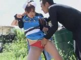 Defeated Kung Fu Teen Rina Ito Gets Punished By Some Bad Guys