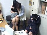 Japanese Mom And Daughter Caught In Stealing