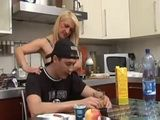 Mature Mom Seduces A Daughters Bf In The Kitchen