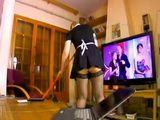 Disturbing Boss Like This While Watching TV Has Serious Consequences For Poor Maid