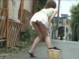 Walking Down The Street With Milk In Her Ass 2