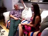 Old Fart Convinces Hot Teen To Fuck Her at Porn Audition