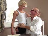 Old Hubby Gets Lucky