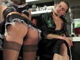 Busty Maid Anal Fucked