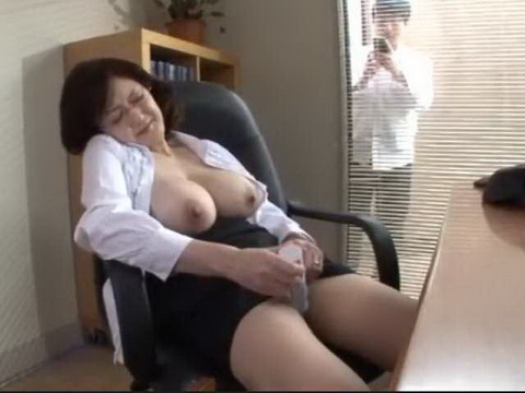 School Director Caught In Masturbating  In The Office By A Student