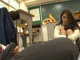 Shy Boy Couldnt Hide Boner From Damn Hot Classmate