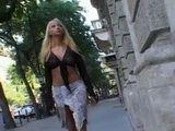 Hot Blonde Jennifer Morante Came In The Big City To Make Her Dreams Come True