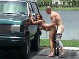 Shameless Hot Latina Has Sex In Public