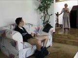 Hot Blonde MILF Mom Walked In On Boy Jerking Off To A Porn Magazine