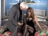 Busty Mature Shemale Gets Anal Fucked By Horny Grandpa