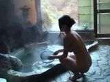 Busty Risa Kasumi Gets Followed Around The House By Husbands Business Partner And Fucked In A Hot Tub